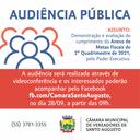 AUDIÊNCIA PÚBLICA SERÁ REALIZADA NO DIA 28 DE SETEMBRO