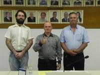 Nova Mesa Diretora da Câmara de Vereadores de Santo Augusto.