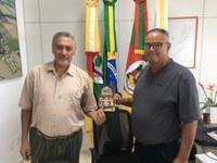 Patrão do CTG Pompílio Silva convida Vereadores para participar do 38º Rodeio Crioulo de Santo Augusto