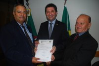 Presidente e Secretário da Câmara em Brasília
