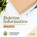 SESSÃO ORDINÁRIA DE 31 DE MAIO DE 2021