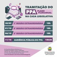 TRAMITAÇÃO DO PPA NA CASA LEGISLATIVA